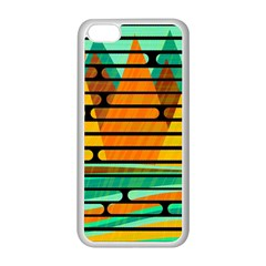 Decorative Autumn Landscape Apple Iphone 5c Seamless Case (white) by Valentinaart
