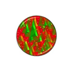 Xmas Trees Decorative Design Hat Clip Ball Marker by Valentinaart