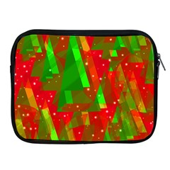 Xmas Trees Decorative Design Apple Ipad 2/3/4 Zipper Cases by Valentinaart
