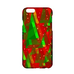 Xmas Trees Decorative Design Apple Iphone 6/6s Hardshell Case by Valentinaart