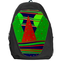 Magical Xmas Night Backpack Bag by Valentinaart