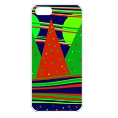 Magical Xmas Night Apple Iphone 5 Seamless Case (white) by Valentinaart