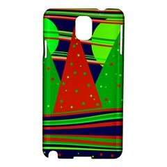 Magical Xmas Night Samsung Galaxy Note 3 N9005 Hardshell Case by Valentinaart