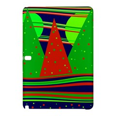 Magical Xmas Night Samsung Galaxy Tab Pro 10 1 Hardshell Case by Valentinaart