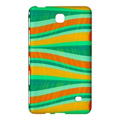Green And Orange Decorative Design Samsung Galaxy Tab 4 (7 ) Hardshell Case  by Valentinaart