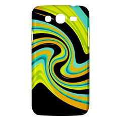 Blue And Yellow Samsung Galaxy Mega 5 8 I9152 Hardshell Case  by Valentinaart