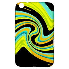 Blue And Yellow Samsung Galaxy Tab 3 (8 ) T3100 Hardshell Case  by Valentinaart