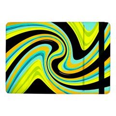 Blue And Yellow Samsung Galaxy Tab Pro 10 1  Flip Case