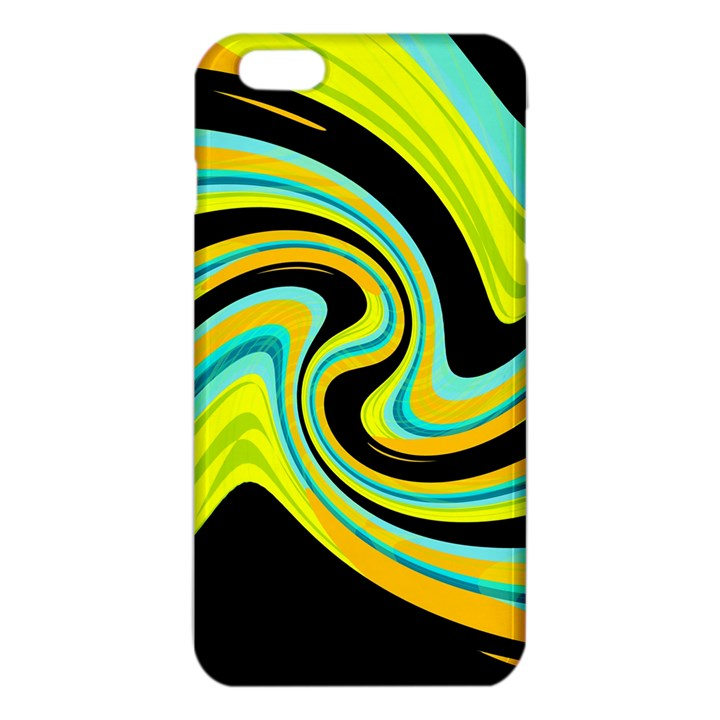 Blue and yellow iPhone 6 Plus/6S Plus TPU Case