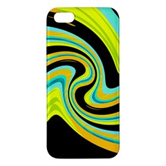 Blue And Yellow Iphone 5s/ Se Premium Hardshell Case by Valentinaart