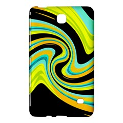 Blue And Yellow Samsung Galaxy Tab 4 (8 ) Hardshell Case  by Valentinaart