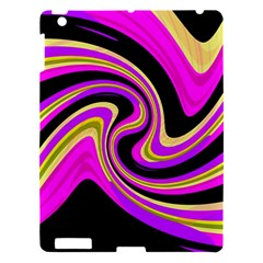 Pink And Yellow Apple Ipad 3/4 Hardshell Case by Valentinaart