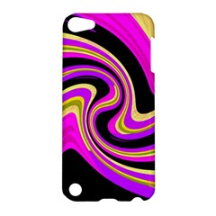 Pink And Yellow Apple Ipod Touch 5 Hardshell Case