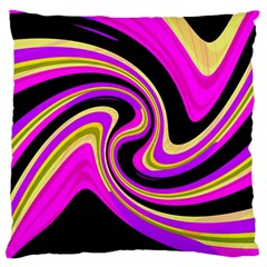 Pink And Yellow Standard Flano Cushion Case (one Side) by Valentinaart