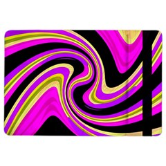 Pink And Yellow Ipad Air 2 Flip by Valentinaart