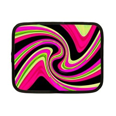 Magenta And Yellow Netbook Case (small)  by Valentinaart