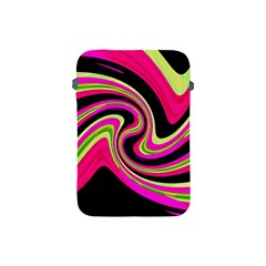 Magenta And Yellow Apple Ipad Mini Protective Soft Cases by Valentinaart
