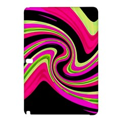 Magenta And Yellow Samsung Galaxy Tab Pro 10 1 Hardshell Case by Valentinaart