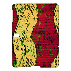 Maroon And Ocher Abstract Art Samsung Galaxy Tab S (10 5 ) Hardshell Case  by Valentinaart