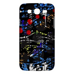 Blue Confusion Samsung Galaxy Mega 5 8 I9152 Hardshell Case  by Valentinaart