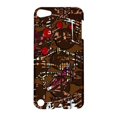 Brown Confusion Apple Ipod Touch 5 Hardshell Case