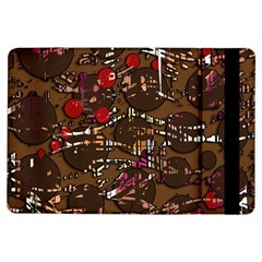 Brown Confusion Ipad Air Flip by Valentinaart