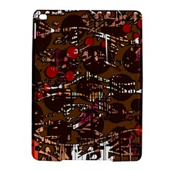 Brown Confusion Ipad Air 2 Hardshell Cases by Valentinaart