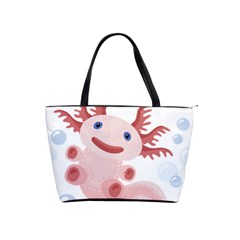 Axolotl Natural Tshirt Shoulder Handbags by XOOXOO
