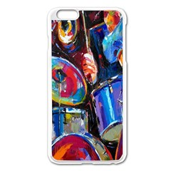 Abstract Paintings Wallpapers Apple Iphone 6 Plus/6s Plus Enamel White Case by AnjaniArt