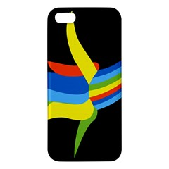 Abstraction Banana Apple Iphone 5 Premium Hardshell Case by AnjaniArt