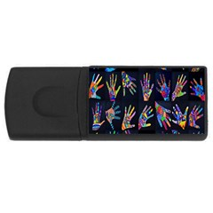 Art With Your Hand Usb Flash Drive Rectangular (4 Gb)