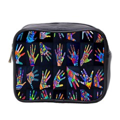 Art With Your Hand Mini Toiletries Bag 2 Side