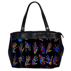 Art With Your Hand Office Handbags by AnjaniArt
