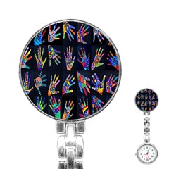 Art With Your Hand Stainless Steel Nurses Watch