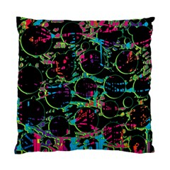 Graffiti Style Design Standard Cushion Case (two Sides) by Valentinaart