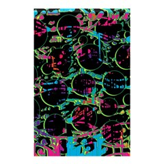 Graffiti Style Design Shower Curtain 48  X 72  (small)  by Valentinaart