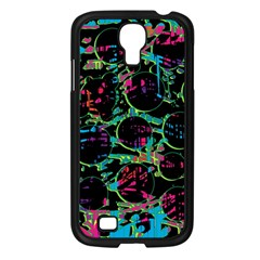 Graffiti Style Design Samsung Galaxy S4 I9500/ I9505 Case (black) by Valentinaart