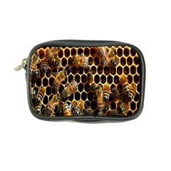 Bees On A Comb Coin Purse by AnjaniArt
