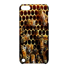 Bees On A Comb Apple Ipod Touch 5 Hardshell Case With Stand