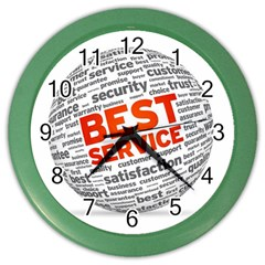 Best Service Color Wall Clocks
