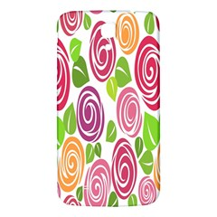 Blue Rose Samsung Galaxy Mega I9200 Hardshell Back Case