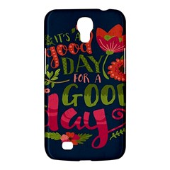 C mon Get Happy With A Bright Floral Themed Print Samsung Galaxy Mega 6 3  I9200 Hardshell Case by AnjaniArt