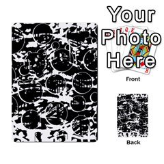 Black And White Confusion Multi Purpose Cards (rectangle)  by Valentinaart
