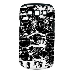 Black And White Confusion Samsung Galaxy S Iii Classic Hardshell Case (pc+silicone) by Valentinaart