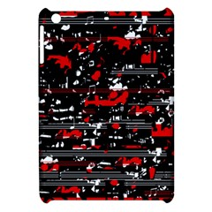 Red Symphony Apple Ipad Mini Hardshell Case by Valentinaart