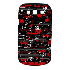 Red Symphony Samsung Galaxy S Iii Classic Hardshell Case (pc+silicone) by Valentinaart