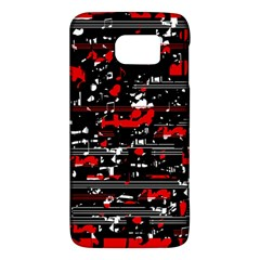 Red Symphony Galaxy S6 by Valentinaart