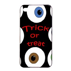 Trick Or Treat  Apple Iphone 4/4s Seamless Case (black) by Valentinaart