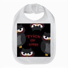 Trick Or Treat   Owls Bib by Valentinaart