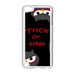 Trick Or Treat   Owls Apple Ipod Touch 5 Case (white) by Valentinaart
